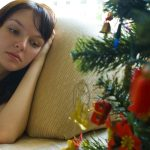 Woman alone for holidays christmas help