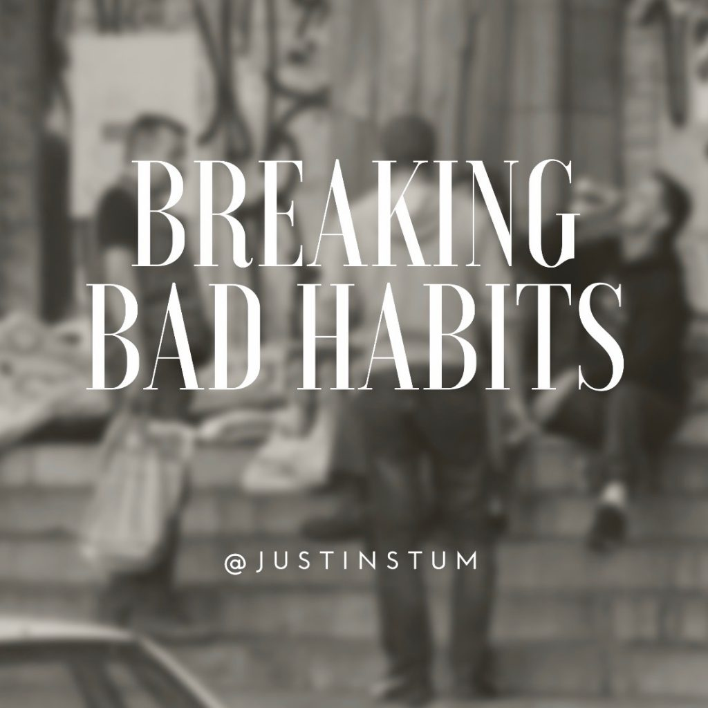 how to break a bad habit - steps to stopping a behavior